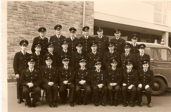 Freiwillige Feuerwehr Niedersaubach 1966