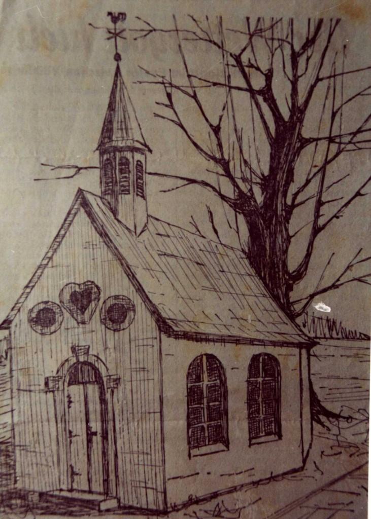 """die alte Kapelle an der """"Säkaul"""""""