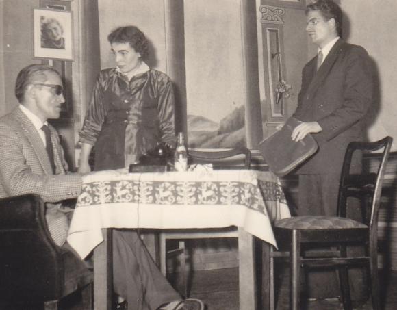 Josef Schäfer, Gerda Groß und Ludwig Reiher