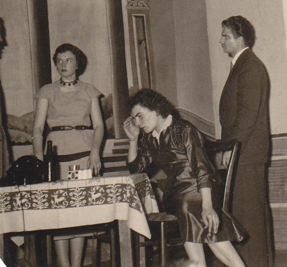 Josef Schäfer, Cilly Schwinn, Gerda Groß und Ludwig Reiher