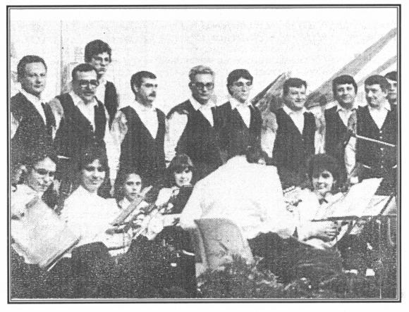 choeur slovène d'Aumetz, Artikel und Foto: SZ 1986