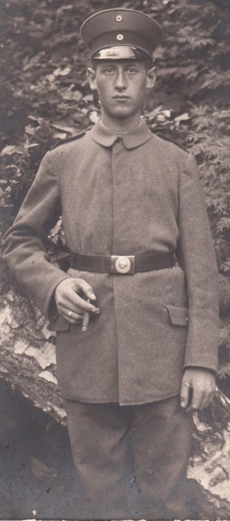 Jakob Schmidt, 1899 - 1918, Fotoarchiv: Axel Alt