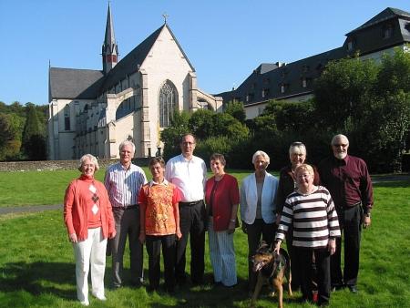 Exerzitiengruppe in Marienstatt