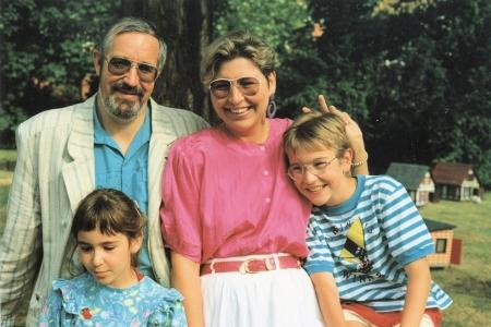 Familie Birringer in jüngeren Jahren