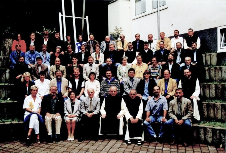 Lehrerkollegium der Klosterschule Marienstatt im Jahr 2000