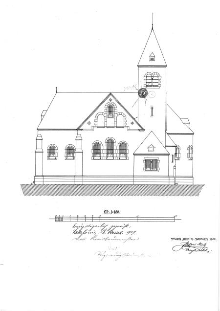 Skizzen des Trierer Dombaumeisters Julius Wirtz