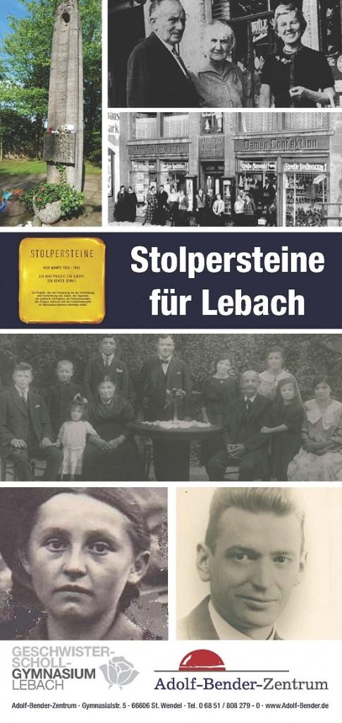 Stolpersteine für Lebach, Copyright: Adolf-Bender-Zentrum St. Wendel