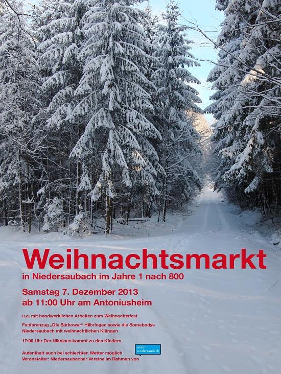 Dieses Bild anklicken, um zum PDF-Plakat zu kommen! Und bitte damit werben für unseren Weihnachtsmarkt! Danke!
