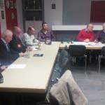 Konstituierung des neuen Vorstandes im Antoniusheim am 20. Januar 2016, Fotos: L. Schmidt
